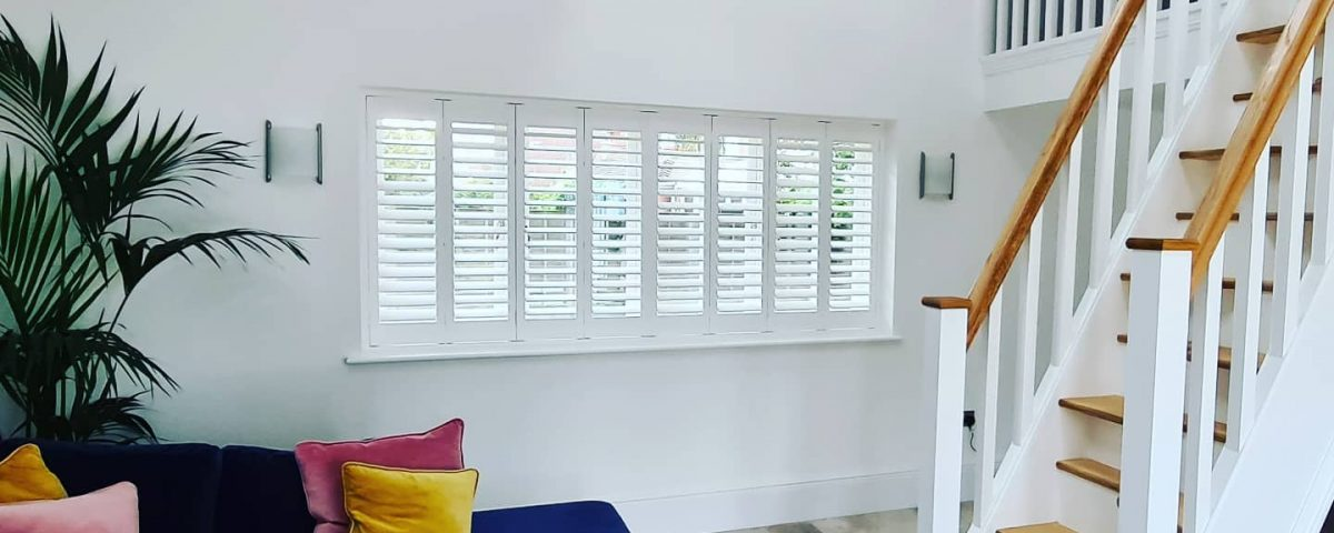 Gorgeous house fitted with two of our lovely window shutters