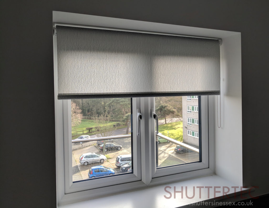 grey roller blinds