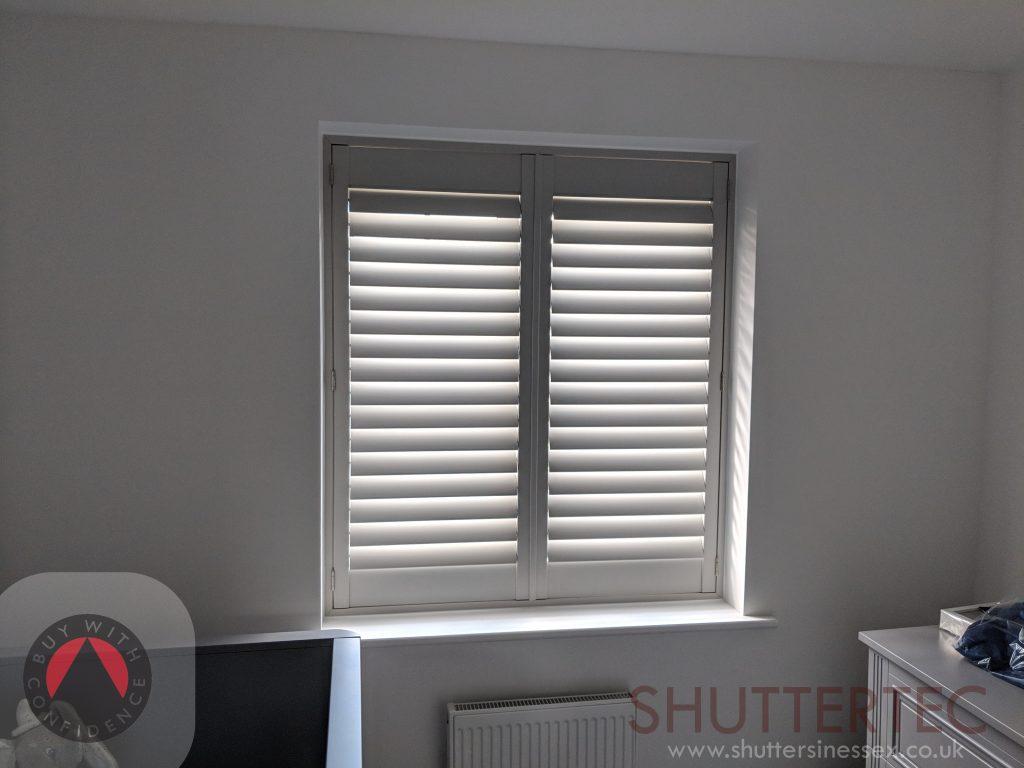 grey shutter