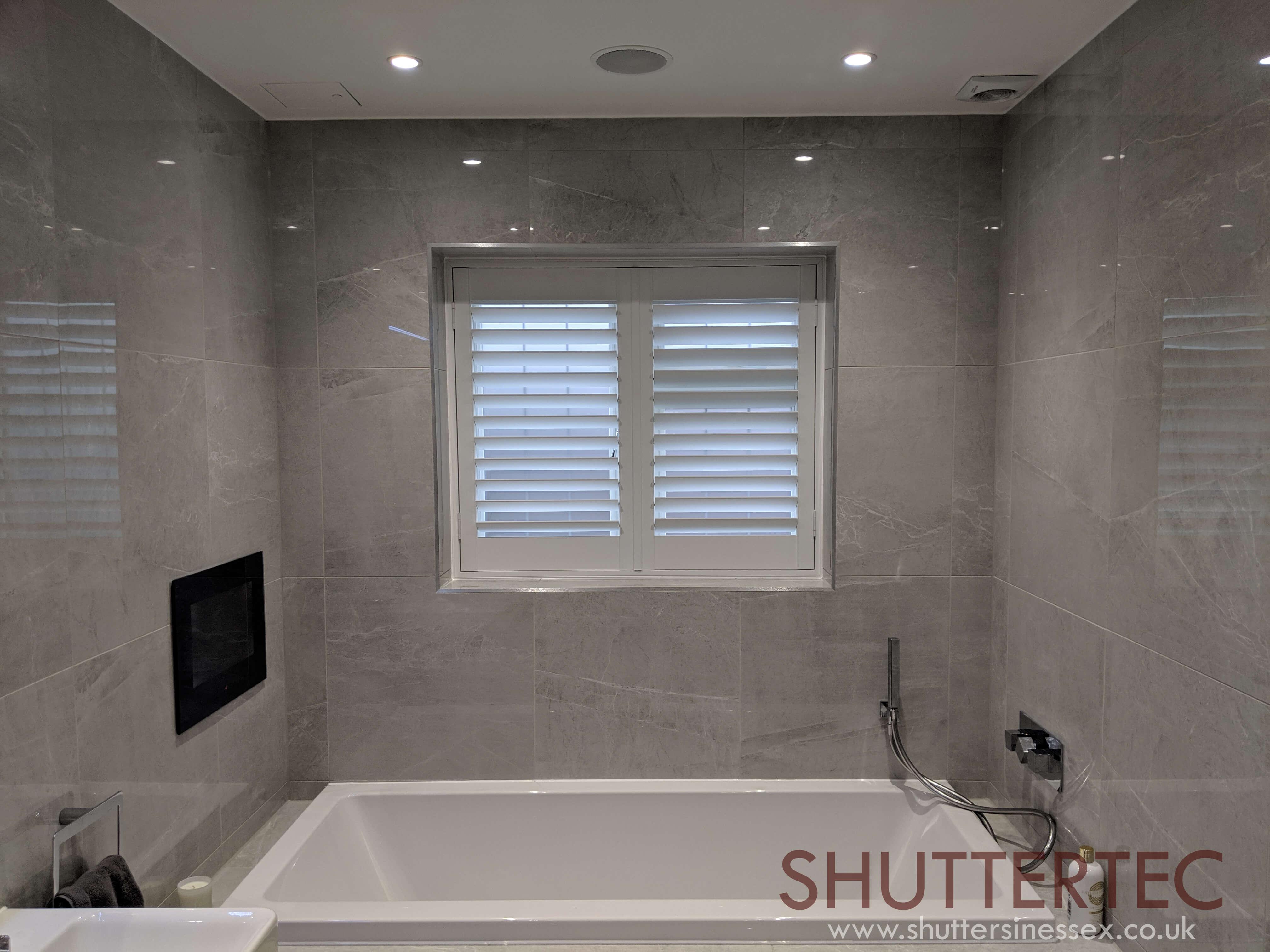 bathroom shutter