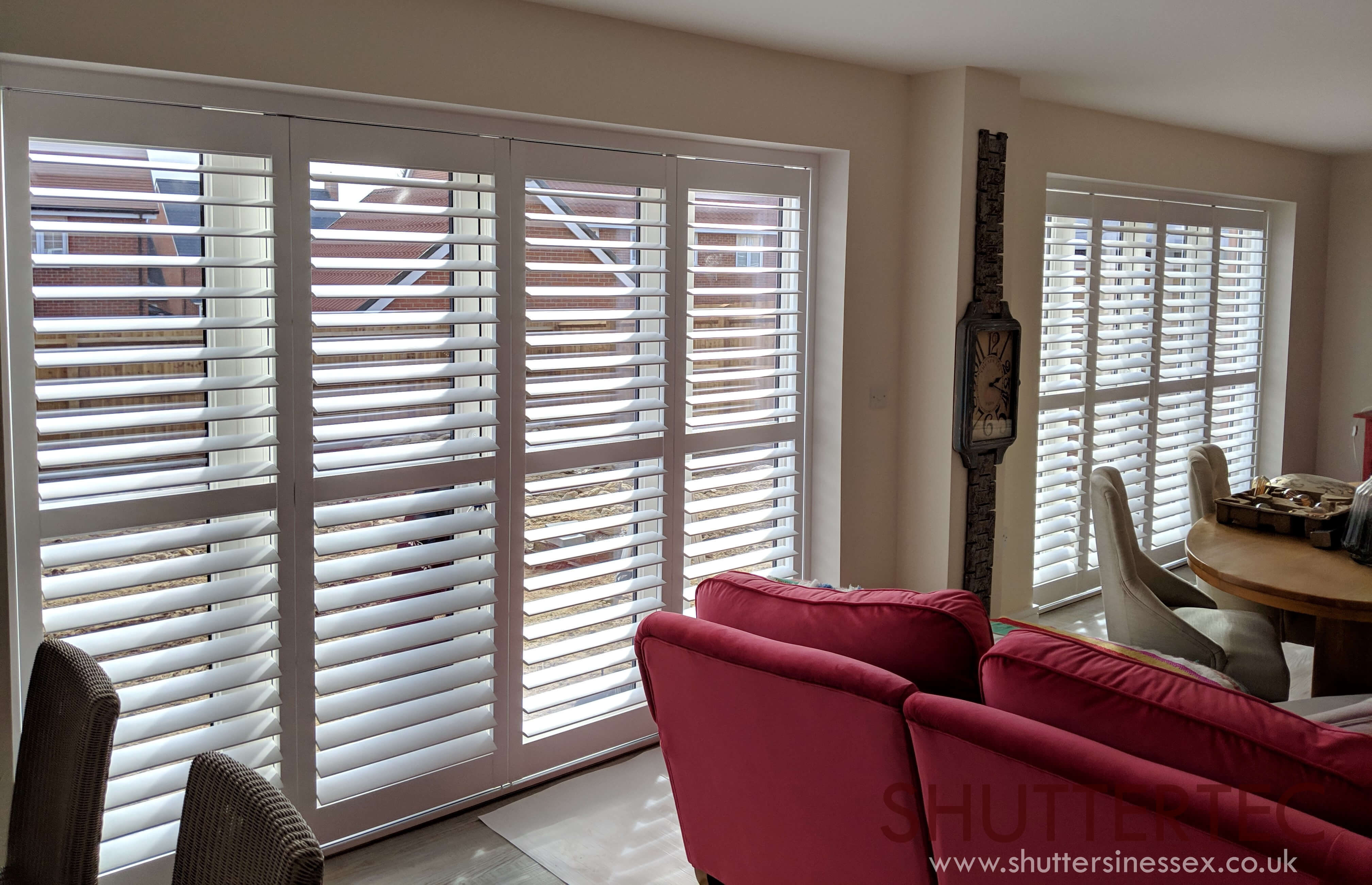 tracked shutters essex
