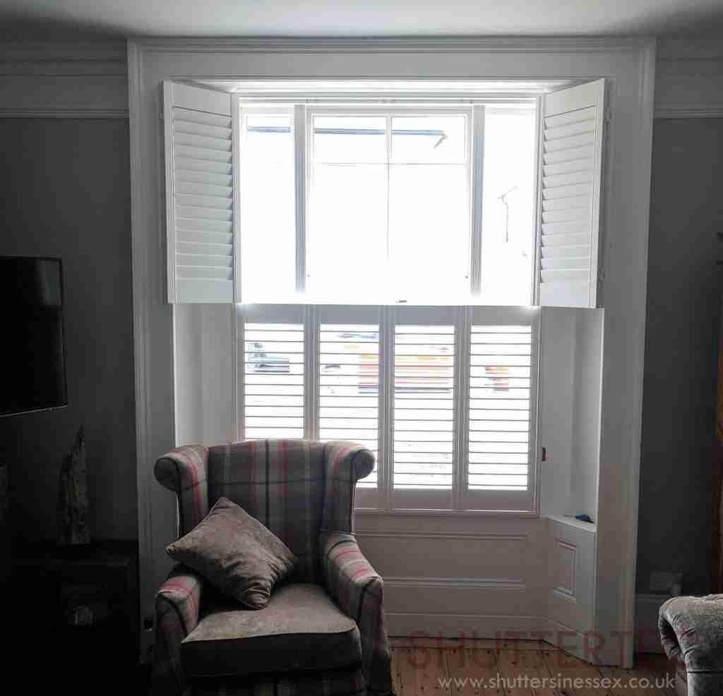 tier on tier shutters