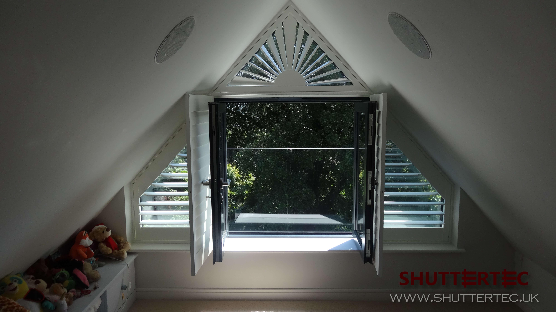 Image of shaped shutters for Shutter tec